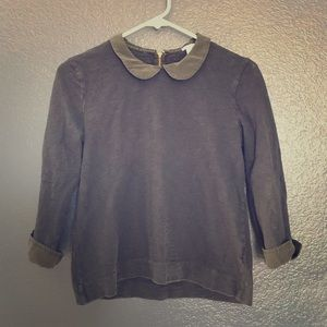 JCrew Top with Collar